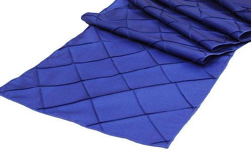 Royal Blue Pintuck Table Runner