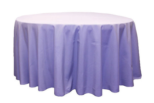 Lavender Polyester Table Linen