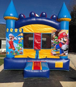 Mario & Luigi Bounce House