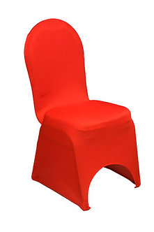 Red Spandex Chair Cover