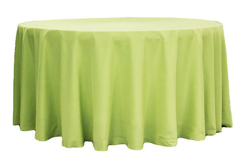Apple Green Polyester Table Linen