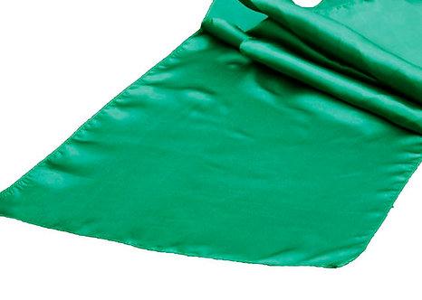 Emerald Green Satin Table Runner