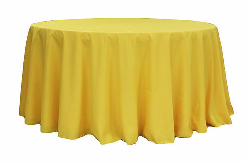 Yellow Polyester Table Linen