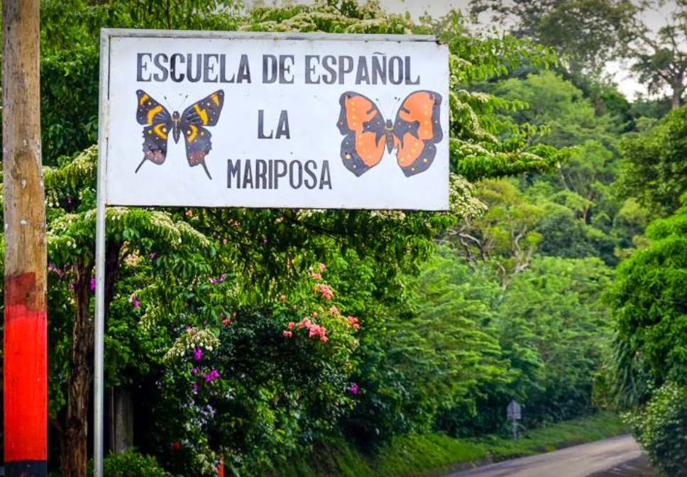 Escuela de Espanol en La Concepción, Masaya, Nicaragua