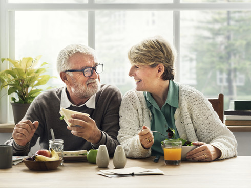 Retirement Senior Couple Lifestyle Livin