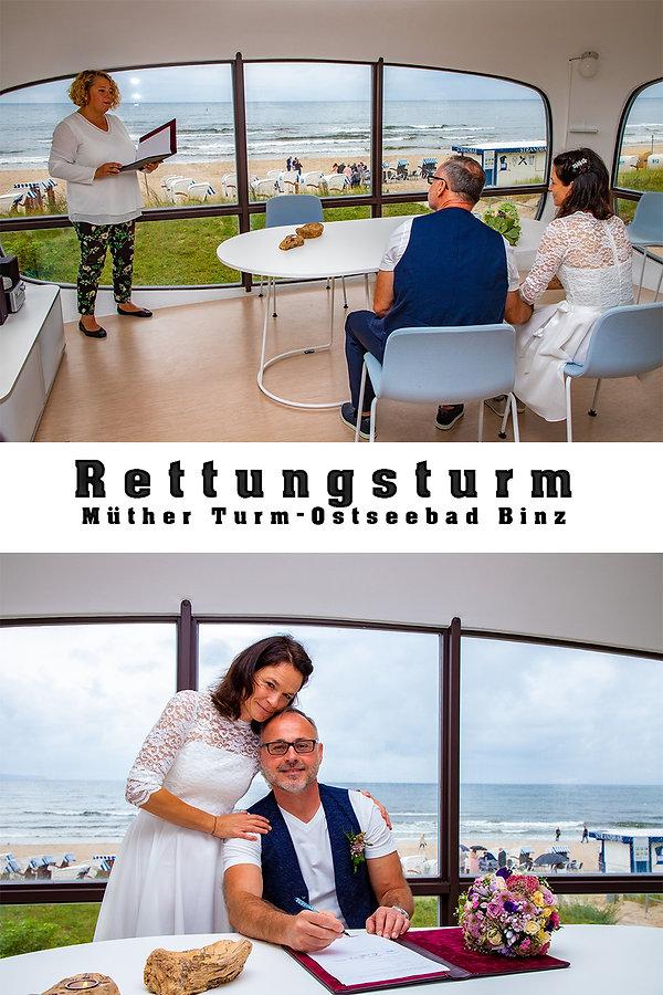 Rettungsturm_Binz_Heiraten_an_der_ostsee, preiswerter hochzeitsfotograf