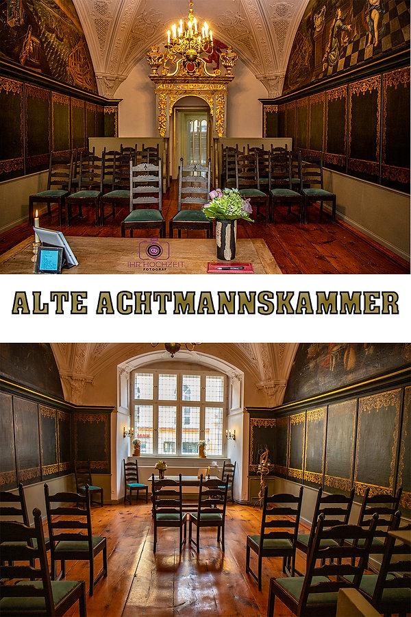 Trauraum Alte Achtmannskammer im Standes