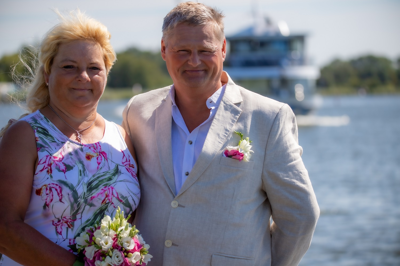 Fotograf fotografiert Hochzeit