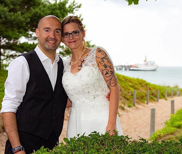 Heiraen in Binz, Hochzeit Rettungsturm Binz, Hochzeitsfotograf gesucht