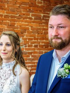 Brautpaar Heiraten Standesamt Nor Rügen, Hochzeitsfotograf fotografiert Hochzeitsfotos Ost