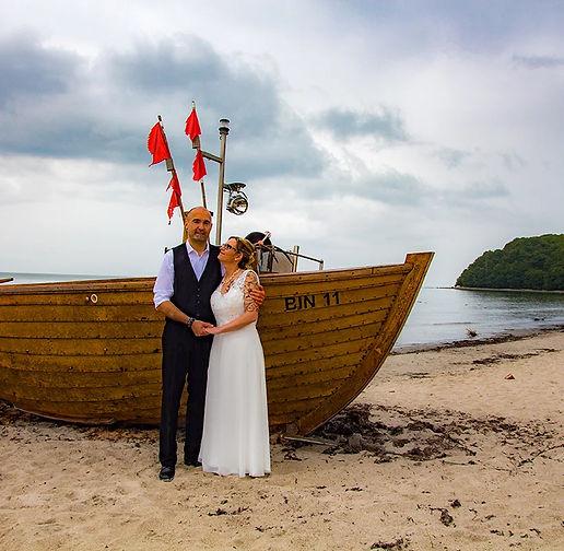 Heiraten in Binz auf Rügen, Hochzeit Rettungsturm Binz, Hochzeitsfotograf gesucht
