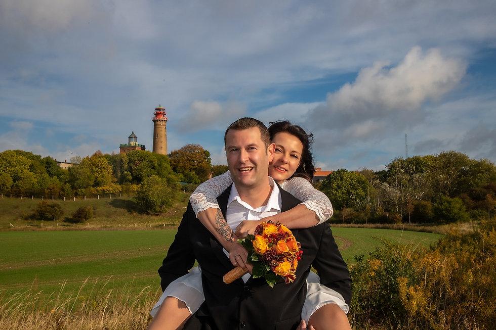 Kap Arkona, heiraten im leuchtturm rügen