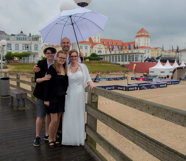 Hochzeitsfotograf gesucht, heiraten in Binz auf Rügen