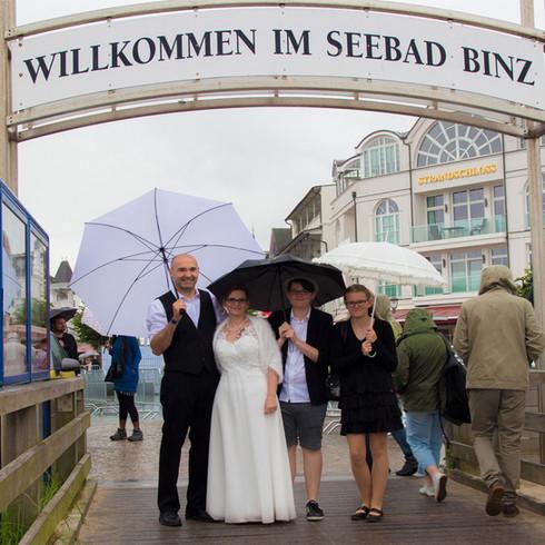 Heiraten in Binz an der Ostsee auf Rügen