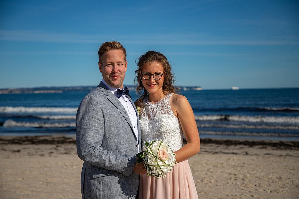 Heiraten in Binz, Hochzeit Rettungsturm,