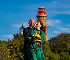 Kap Arkona Rügen, Heiraten im Leuchtturm, Hochzeit Standesamt Schinkelturm