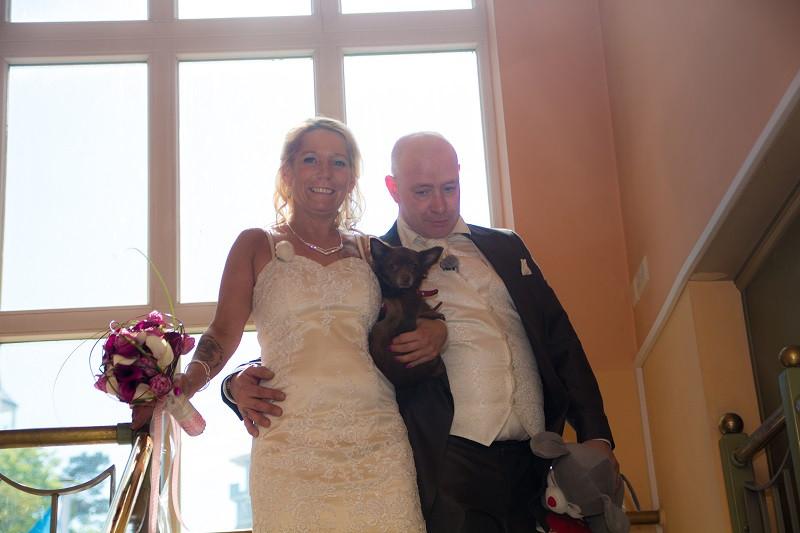 Heiraten auf Rügen Seebrücke Sellin