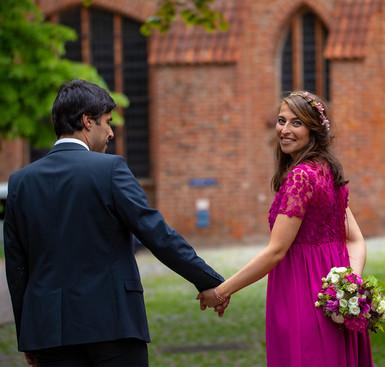 Brautpaar Shooting Johanneskloster