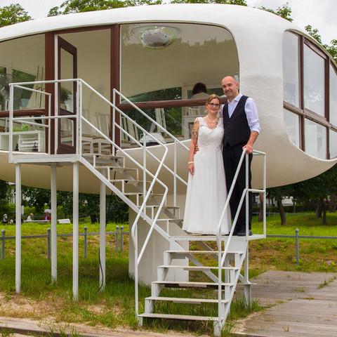 Hochzeit Rettungsturm Binz Müther Turm