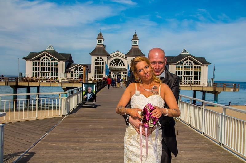 Heiraten auf Rügen von Klaudia und Torsten, Seebrücke Sellin