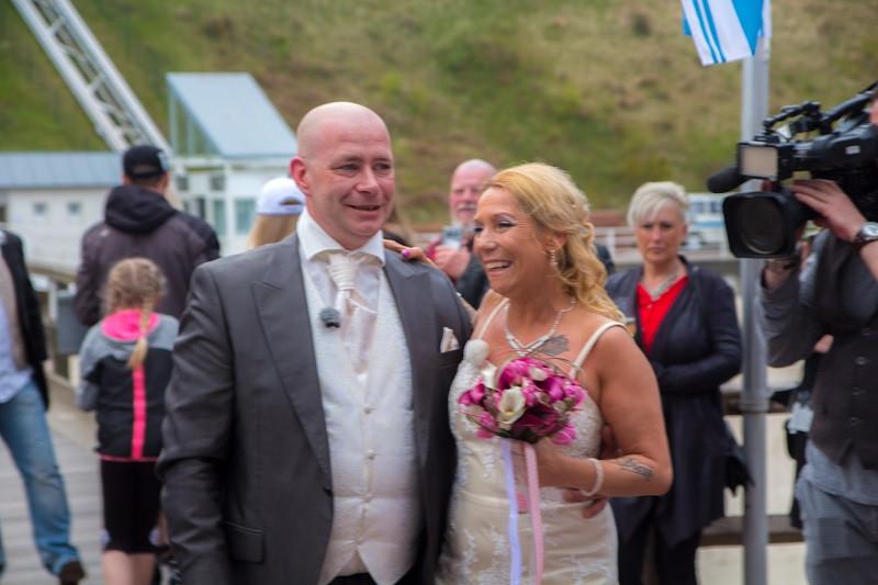 DJ Rügen, Hochzeit Seebrücke Sellin, Hochzeit auf Rügen