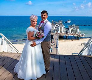 Hochzeitsfotograf Rügen, Fotograf für Hochzeit gesucht Seebrücke Sellin