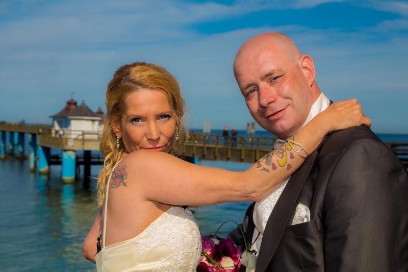DJ auf Rügen, Heiraten Seebrücke Sellin
