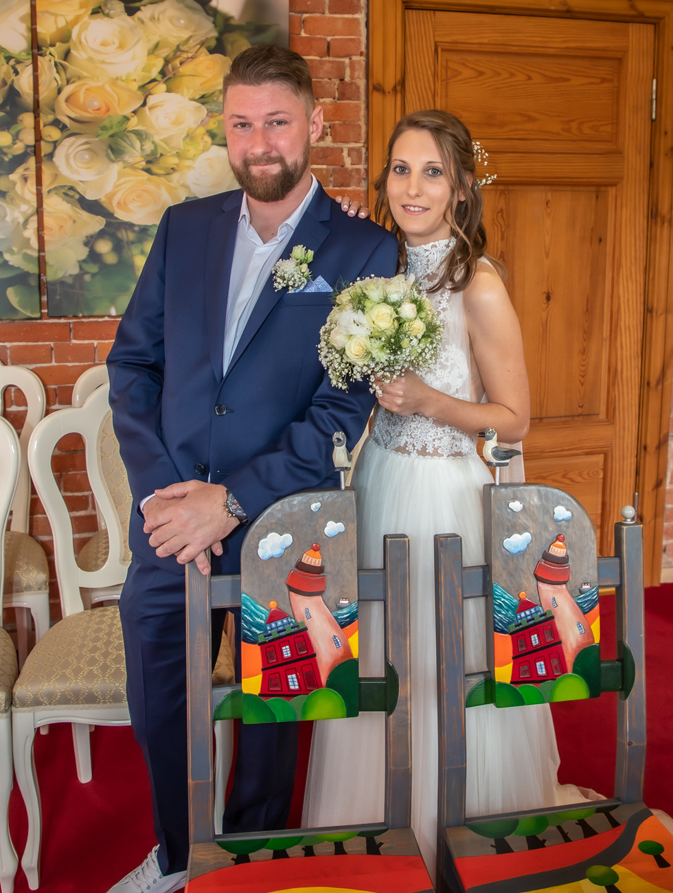 Stühle Standesamt Schinkelturm Brautpaar heiraten im Leuchtturm.jpg