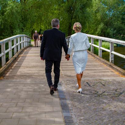 Heiraten in Stralsund - Shooting an Weissen Brücken