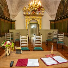 Hochzeitsfotograf Stralsund, Trauraum Achtmannskammer