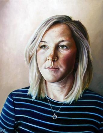 Hayley - Oil on canvas