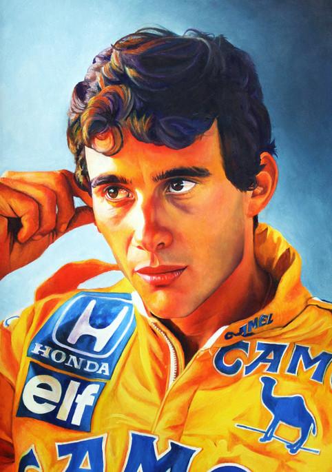 Senna - Oil on cavnas
