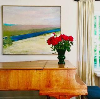 Wolf Kahn oil painting