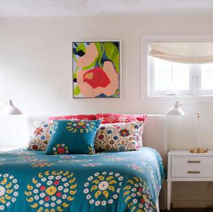 Modern Tudor - bedroom