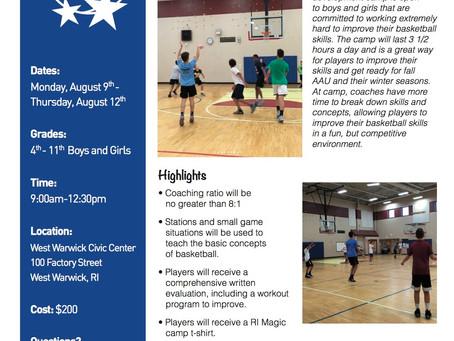 RI Magic Summer Camp Information