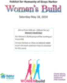 2019 Women's Build, Habitat for Humanity of Grays Harbor
