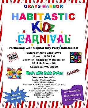 Habitat for Humaniy of Grays Harbor Habitastic Kidz Carnival