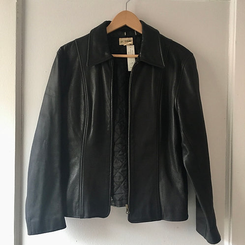 Vintage J.Crew Goat Leather Classic Jacket / Small