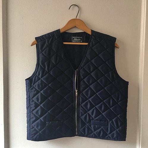 Navy Outdoors Cropped Vest / Medium