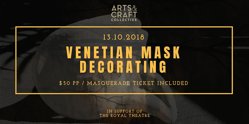 Venetian Mask Decorating Workshop