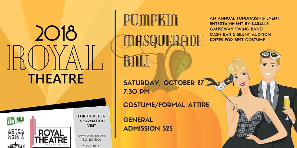 The Royal Pumpkin Masquerade Ball
