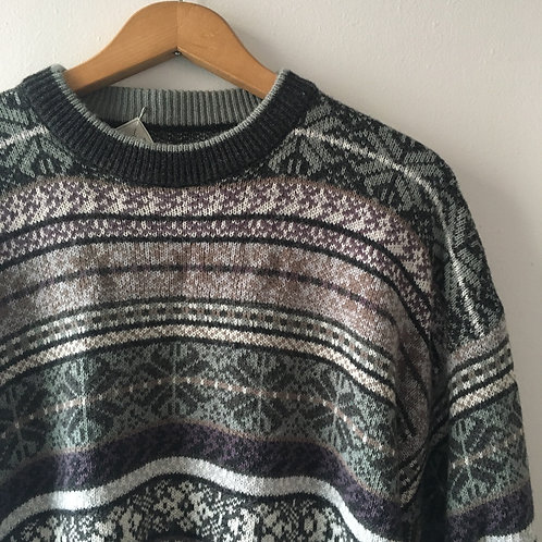 Cozy 100% Wool Sweater / Medium - Large