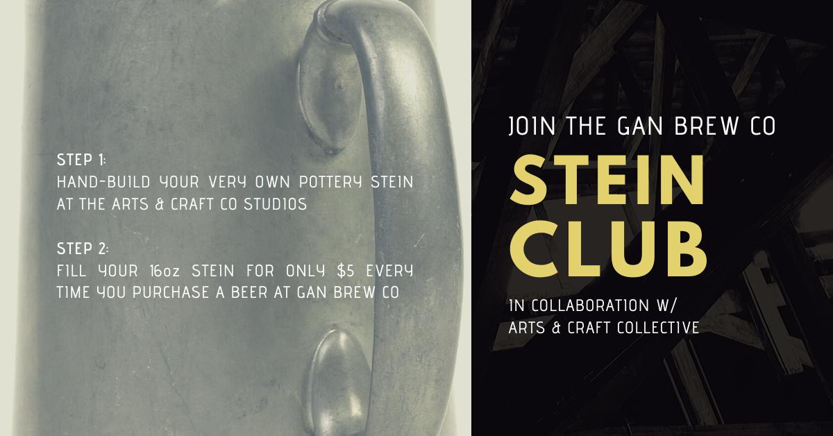 Gan Brewing Co Stein Club