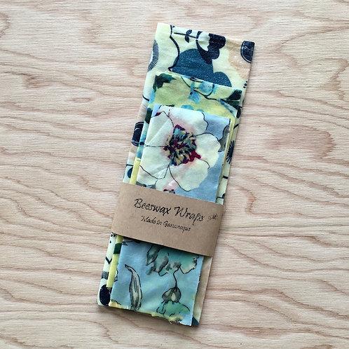 Hailey's Beeswax Wraps / 3-Piece
