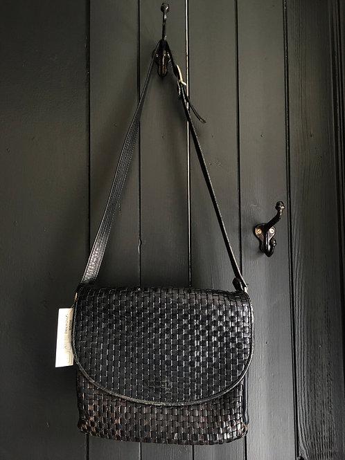 Woven Leather Vintage Purse