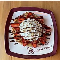 Seasonal Fruit Waffle 과일 와플