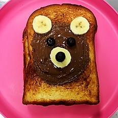 Hazel Bear Toast
