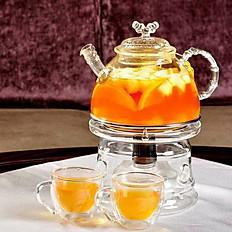 Hot Fresh Fruit Tea
