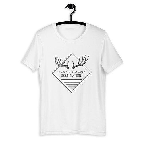 "Shirt ""Next Destination"" weiß"