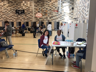 FIRST EVER Red Cross blood drive!